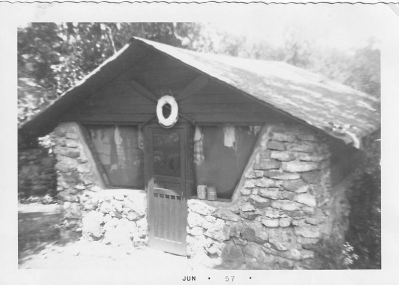 1957 Photo: Kia Kima Cabin 2 - Waterfront Staff