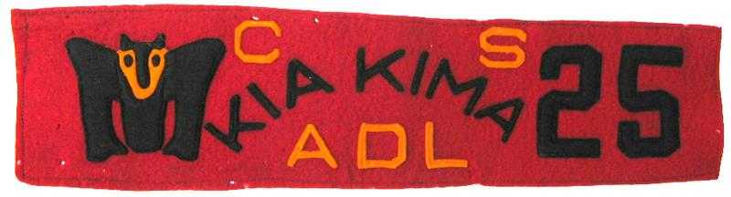 1925 Kia Kima Sash Segment