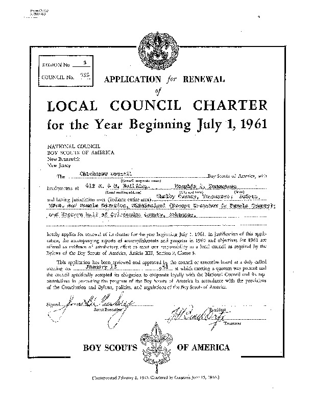 http://www.kiakimamuseum.org/plugins/Dropbox/files/1961 - Chickasaw Council Recharter & Annual Report.pdf