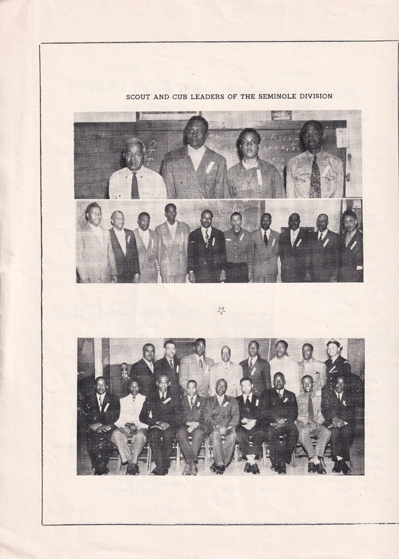 http://www.kiakimamuseum.org/plugins/Dropbox/files/1949 - Leaders of Seminole Division Photo in Seminole Division Boy Scout Circus [Dalstrom].tif