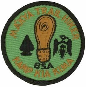 1971 Ma'kya Trail Patch