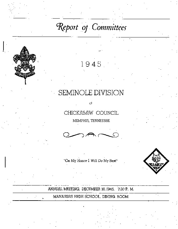 1945 - Chickasaw Council Seminole Division Reports of Committees.pdf