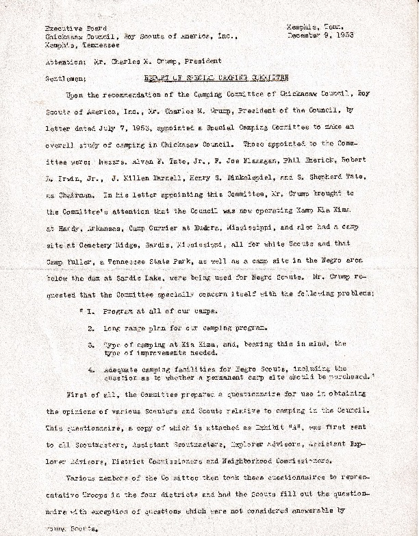 http://www.kiakimamuseum.org/plugins/Dropbox/files/1953 (12-9-53) - Report of Special Camping Committee [Dalstrom].pdf