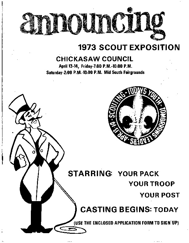 1973 - Chickasaw Council Scout Show Guide.PDF