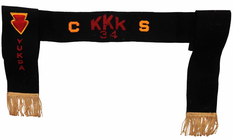 1934 - Kia Kima Camper Sash, CS, Lodge Leader.jpg