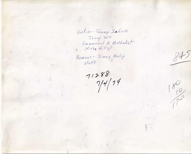 1974 (7-4-74) -  Jimmy Haslip (Staff), Tommy Zadick (T359)  [Press-Scimitar](REVERSE).tiff