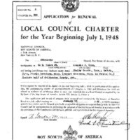 1948 - Chickasaw Council Recharter & Annual Report.PDF