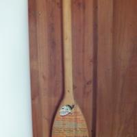1993 Osage Staff Paddle