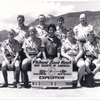 1989 Photo: Chickasah Lodge & Ittawamba Lodge Philmont Trek