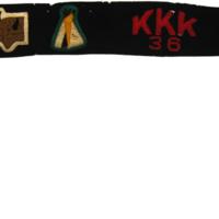 1936 Kia Kima Camper Sash
