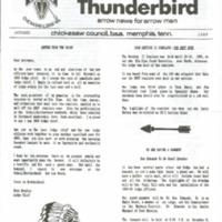 1989 (Oct) Chickasah Lodge Thunderbird Newsletter