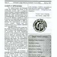 1994 (Spring) - Chickasah Lodge Thunderbird Newsletter.pdf