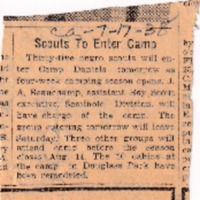 1938 (7/17/1938) Commercial Appeal: Seminole Scouts to Enter Camp