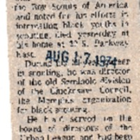 http://www.kiakimamuseum.org/plugins/Dropbox/files/1974 (8-17-74) - Press Scimitar - Scout Executive Beauchamp Dies at 75 [Press-Scimitar].pdf