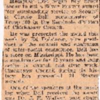 http://www.kiakimamuseum.org/plugins/Dropbox/files/1941 (12-6-41) - Claude Bell Receives Silver Beaver [Dalstrom].pdf