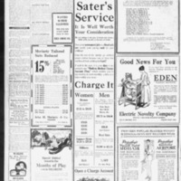 1920 (06/11/1920) News Scimitar: 64 Boy Scouts Going to Camp Saturday