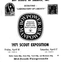 1971 - Chickasaw Council Scout Show Program.PDF