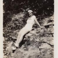 http://www.kiakimamuseum.org/plugins/Dropbox/files/c1920 Miramichee Girl (Unknown) on Rocks.tiff