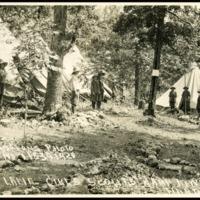 "1920 Photo ""Lizzard Lane"" at Kamp Kiwani"