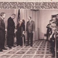 http://www.kiakimamuseum.org/plugins/Dropbox/files/1966 (9-20-66) - Pres Johnson Presenting Flag to Chickasaw Council Troop 22 [Press-Scimitar].tif