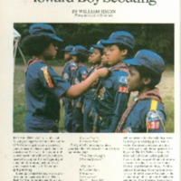 1980 (10/01/1980) Scouting Magazine: Pointing Webelos Scouts Toward Boy Scouting