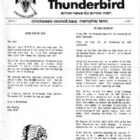 1989 (Mar) Chickasah Lodge Thunderbird Newsletter