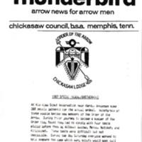 1987 (Summer) Chickasah Lodge Thunderbird Newsletter