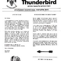 1987 (Oct) Chickasah Lodge Thunderbird Newsletter