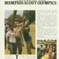 1982 (12/01/1982) Scouting Magazine: Every Kid's a Winner at the Memphis Scout Olympics