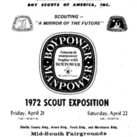 1972 - Chickasaw Council Scout Show Program.PDF