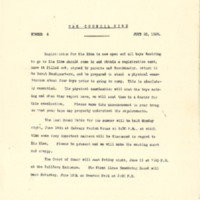 1926 Chickasaw Council Council Fire Newsletters