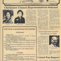 1979 (Sept) Chickasaw Council Smoke Signals Newsletter