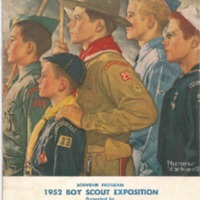 1952 - Chickasaw Council Boy Scout Exposition Program.PDF