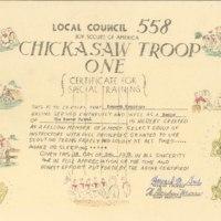 1951 - Woodbadge Certificate, Ken Humphreys.jpg