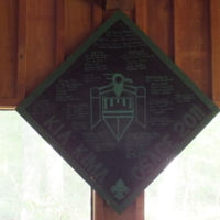2011 Osage Staff Plaque