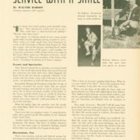 1958 (12/01/1958) Scouting Magazine: Photo of Jack Howard (Chickasah Lodge) Hoop Dancing at NOAC