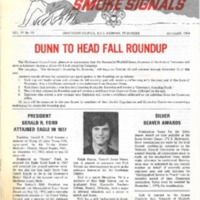 1974 (Oct) Chickasaw Council Smoke Signals Newsletter