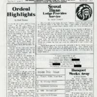 1992 (Nov) Chickasah Lodge Thunderbird Newsletter