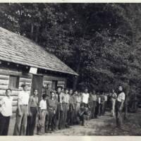 http://kiakimamuseum.org/plugins/Dropbox/files/1933c - Troop 48 in front of Troop 48 Cabin (Camp Currier).jpg