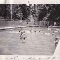 1949 Photo: Camp Currier Pool