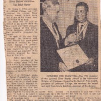 http://www.kiakimamuseum.org/plugins/Dropbox/files/1960 (2-3-60) - Commercial Appeal - 'Scouting Honors LeMoyne President' Dr Hollis Price Receives Silver Beaver [Dalstrom].pdf