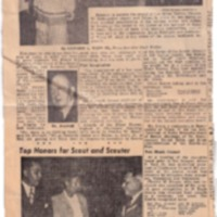 1949 (12-16-49) - Press Scimitar - 'Man and Boy Must Serve Together in Scouting', Robert Brown Receives Silver Beaver (combined) [Dalstrom].pdf