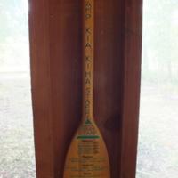 1992 Osage Staff Paddle