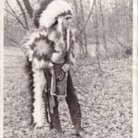 1975 Photo: Chickasah Lodge Regalia Hiriam Maynard