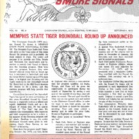 1973 (Sept) Chickasaw Council Smoke Signals Newsletter