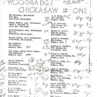 1956 WB Course Chickasaw 1 Kia Kima