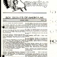 1956 (Aug) - Chickasaw Council Smoke Signals Newsletter