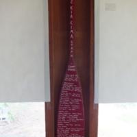 2002 Osage Staff Paddle