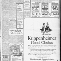 1919 (3/18/1919) News Scimitar: Boy Scout Program Has No Place for Basket Ball Teams
