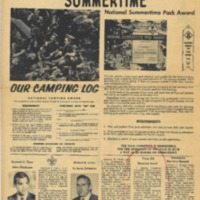 1969 (July) Chickasaw Council Smoke Signals Newsletter